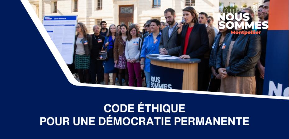 Code éthique : pour une démocratie permanente