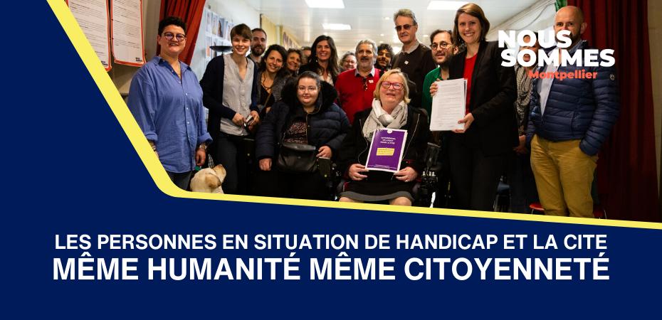 Personnes en situation de handicap et la cité
