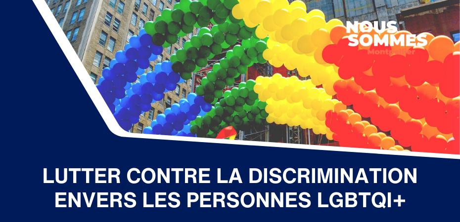 Lutter contre la discrimination envers les personnes LGBTQI+